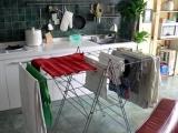 供应不锈钢可伸缩折叠晾衣架家居用品