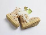 女童男童儿童棉靴子雪地靴加厚加绒冬款中筒软底棉鞋外贸原单