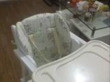 转宝宝餐椅一个