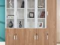 加厚铁皮文件柜五门更衣柜储物柜钢制办公玻璃书柜带锁资料档案柜