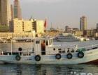 青岛小港18米木质钓鱼船,证照齐全,80匹马力