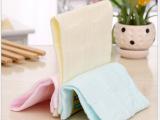 婴儿口水巾3条围嘴新生儿宝宝纯棉纱布喂奶巾饭兜宝宝小方巾