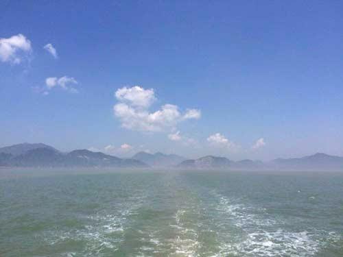 如果大家周末有空,不妨到舟山出海捕鱼