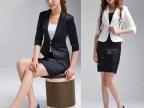 韩版2015春秋新款女装收腰修身显瘦短款小西装西服  佛山生产厂家