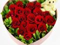 开业花篮鲜花店鲜花速递花店订花送花预定蛋糕玫瑰