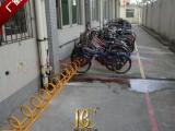 博昌牌螺旋式自行车停车架颜色多选