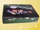 供应台球铁盒 乒乓球收纳盒 网球包装盒专业定制