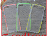 高档 创意手机配件 Tech21系列网格 TPU手机套 双色带手