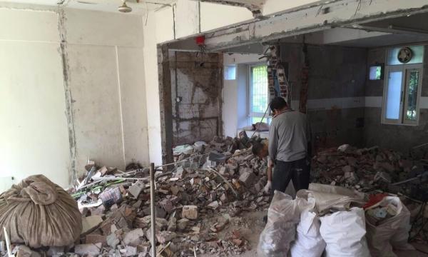 专业承接济宁新旧房室内各种砸墙拆除各项垃圾清运服务