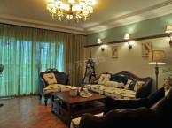 江北天古装饰公司设计师陈鹏 保利观澜美式风格设计完工实景图