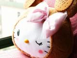 凯蒂猫 可爱曲奇饼干 抱枕 毛绒公仔 娃娃玩具玩偶