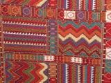 波西米亚民族风格 民族方块色织提花箱包布手袋面料 服装料