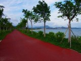 济宁彩色沥青混凝土路面性能及原理喷涂彩色路面价格