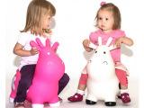 充气奶牛跳跳马 儿童充气玩具 跳跳马鹿牛