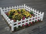 四川PVC草坪柵欄 優美雅塑鋼PVC圍欄