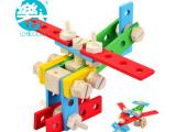 儿童益智玩具木制多功能百变螺母组合玩具智力拼拆玩具