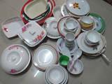 跑江湖地摊最新产品,密胺防瓷,碗、盘、杯、库存餐具论斤卖。