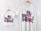 夏季亲子装 韩国字母印花亲子装短袖T恤 全棉儿童装批发