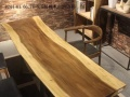 南美胡桃木乌金木大板餐桌办公桌等新中式实木家具批发