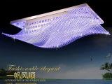 灯饰厂家 方形水晶吸顶灯天花灯  中山灯饰灯具批发 一帆风顺