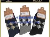 供应男士加厚保暖冬天袜子 兔羊毛超厚袜子