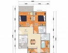 南山后海蔚蓝海岸一期 5室1厅 主卧 朝北 精装修独立卫生间