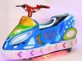 儿童极速飞车电动双人户外彩灯玩具遥控车亲子炫酷摩托车