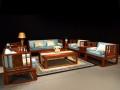 缅甸花梨明式十件套沙发
