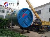 一體化下沉泵站廠家 玻璃鋼一體化預制泵站 污水提升泵站