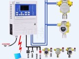 全天在线监测氧气报警器两级报警多个探测点集中监控
