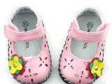 春秋鞋款婴儿公主单鞋 羊皮宝宝鞋 品牌童