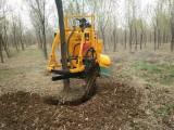 三普链条式挖树机多少钱台