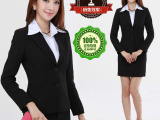 批发定做职业女装韩版修身秋冬职业西装外套白领必备