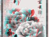 3D设计软件 3D红蓝图设计  3D眼镜 3D菲林设计输出