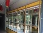 定做玻璃钛镁合金展示柜玻璃货架产品展架玻璃柜台