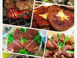 韩国纸上烤肉师傅 韩国自助烤肉师傅 厨师