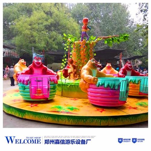 免费安装调试的旋转式自控飞机游乐设备尽在郑州嘉信