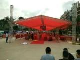 广州庆典铝架帐篷 舞台背景 音响灯光 吧台吧椅 空调扇铁马