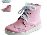广州厂家直销 2014秋冬新款 爆款韩版时尚全皮板鞋