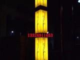 中山户外灯具定制供应特色花纹景观灯音符景观灯方形柱子景观灯