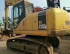 二手挖掘机市场专卖,二手小松220-7挖掘机原装低价出售