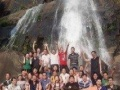 溯溪,桥降夏日团队户外玩水拓展培训,团队文化建设