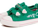 一双代发 2014春夏新款 男女童鞋 帆布鞋 中小童布鞋601