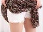 2014新春 韩版双层蕾丝花边三分打底裤安全裤防走光短裤女夏裤子