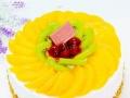 杭锦旗水果蛋糕优质的原料水果蛋糕定制欧式蛋糕免费配