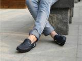 厂家直销2014新款豆豆鞋低帮单鞋真皮男鞋英伦春款潮男豆豆鞋