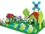 博宝 开心小农场 礼品玩具 DIY拼装 益知 立体拼图 拼装模型