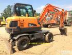 较新款斗山DX60轮式挖掘机全国免费送货上门