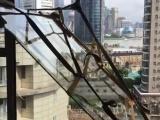 上海高层吊门窗框架玻璃上楼高楼住宅吊建筑材料家具沙发上下楼