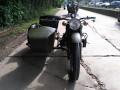 长江750边三轮摩托车标准配置车